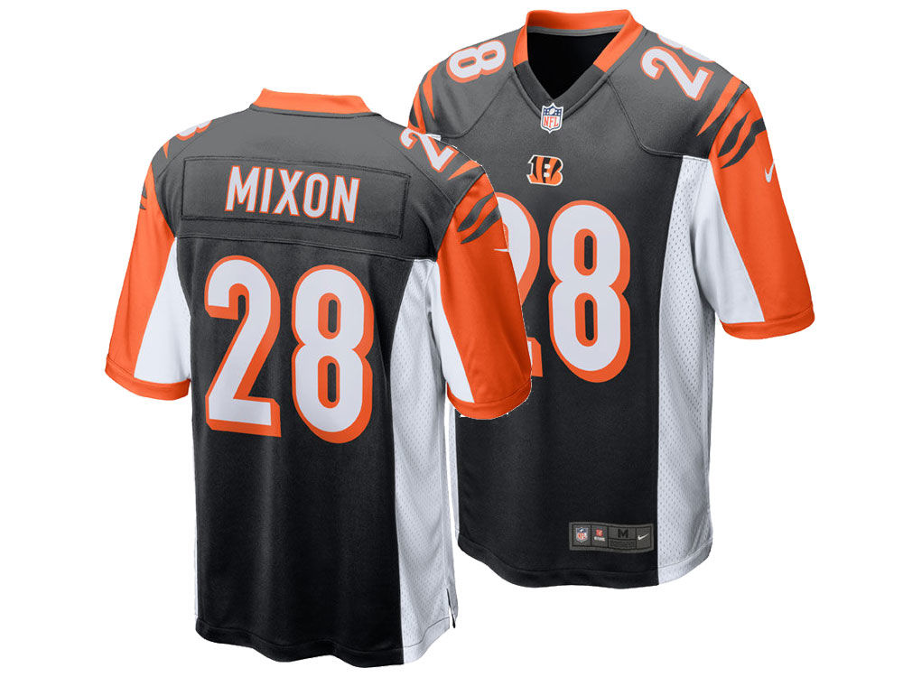 Cincinnati Bengals Joe Mixon Nike NFL Men s Game Jersey  ee98eaa0da46