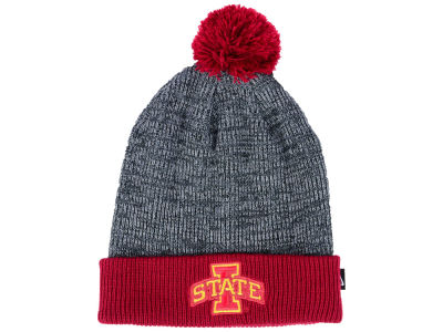 Iowa State Cyclones Nike NCAA Heather Pom Knit