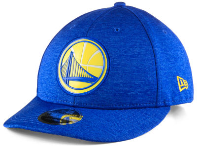 Golden State Warriors New Era NBA Beveled Hit Team Low Profile 9FIFTY Snapback Cap