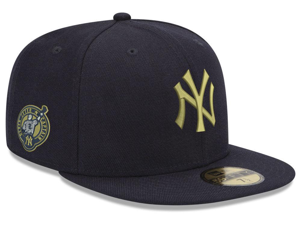 New York Yankees Derek Jeter New Era MLB Jeter Retirement 59FIFTY Cap  18ca3ed39cce