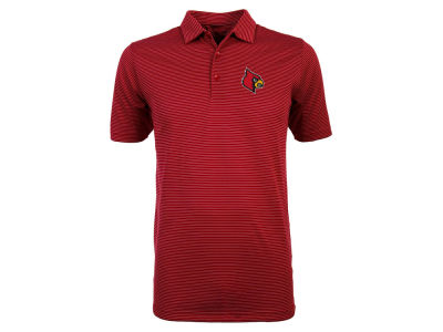 Louisville Cardinals Antigua NCAA Men's Quest Polo