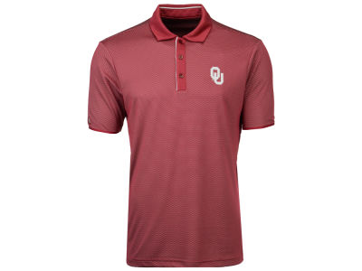 Oklahoma Sooners Antigua NCAA Men's Draft Polo