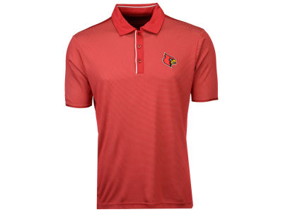 Louisville Cardinals Antigua NCAA Men's Draft Polo