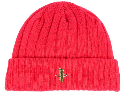 Houston Rockets New Era NBA Badge Slick Cuff Knit