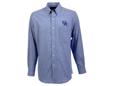 Kentucky Wildcats Antigua NCAA Men's Associate Button Up