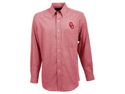 Oklahoma Sooners Antigua NCAA Men's Associate Button Up