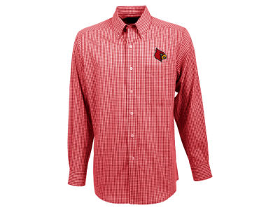 Louisville Cardinals Antigua NCAA Men's Associate Button Up