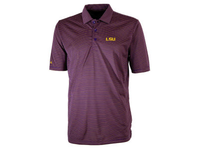 LSU Tigers Antigua NCAA Men's Quest Polo
