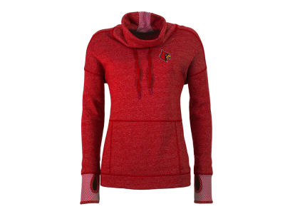 Louisville Cardinals Antigua NCAA Women's Snap Pullover