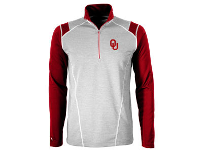 Oklahoma Sooners Antigua NCAA Men's Automatic Quarter Zip Pullover