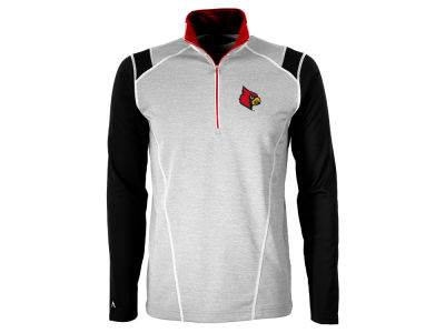 Louisville Cardinals Antigua NCAA Men's Automatic Quarter Zip Pullover