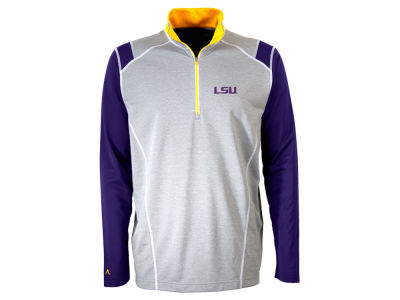 LSU Tigers Antigua NCAA Men's Automatic Quarter Zip Pullover