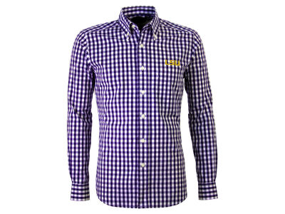 LSU Tigers Antigua NCAA Men's National Button Up
