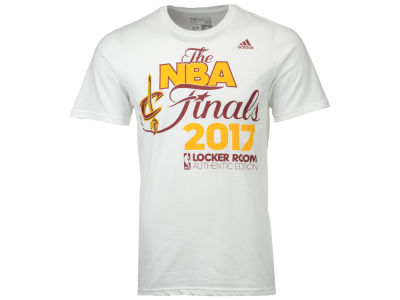 Cleveland Cavaliers adidas 2017 NBA Men's Conference Champ Locker Room T-Shirt