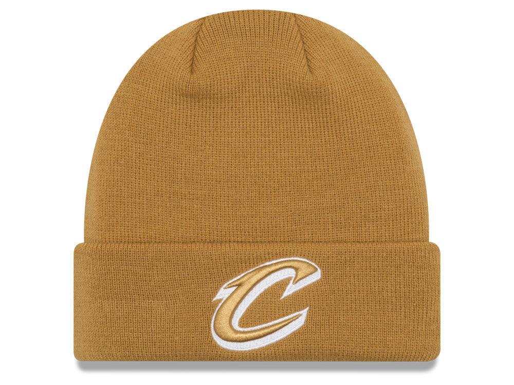 Cleveland Cavaliers New Era NBA Fall Time Cuff Knit  1d101b2efc43