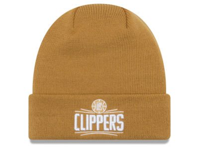 Los Angeles Clippers New Era NBA Fall Time Cuff Knit