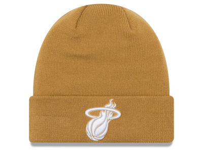 Miami Heat New Era NBA Fall Time Cuff Knit