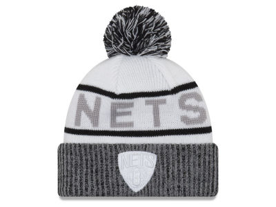 Brooklyn Nets New Era NBA Court Force Pom Knit