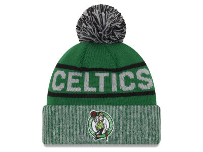Boston Celtics New Era NBA Court Force Pom Knit
