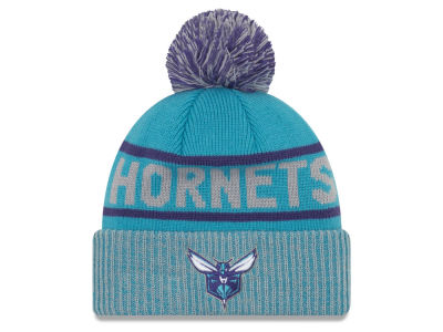 Charlotte Hornets New Era NBA Court Force Pom Knit