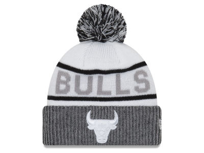 Chicago Bulls New Era NBA Court Force Pom Knit