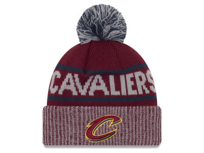 Cleveland Cavaliers New Era NBA Court Force Pom Knit