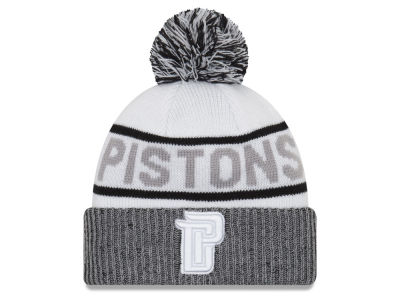 Detroit Pistons New Era NBA Court Force Pom Knit