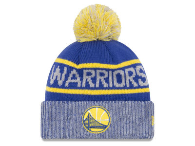 Golden State Warriors New Era NBA Court Force Pom Knit