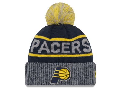 Indiana Pacers New Era NBA Court Force Pom Knit