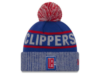 Los Angeles Clippers New Era NBA Court Force Pom Knit