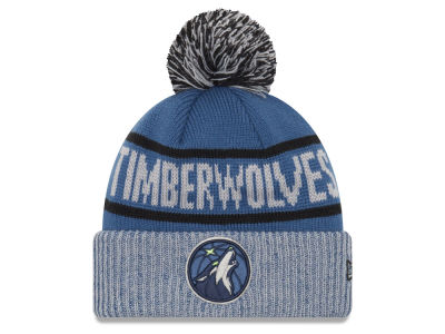 Minnesota Timberwolves New Era NBA Court Force Pom Knit