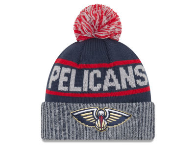 New Orleans Pelicans New Era NBA Court Force Pom Knit