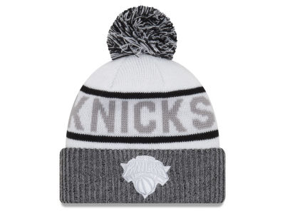 New York Knicks New Era NBA Court Force Pom Knit
