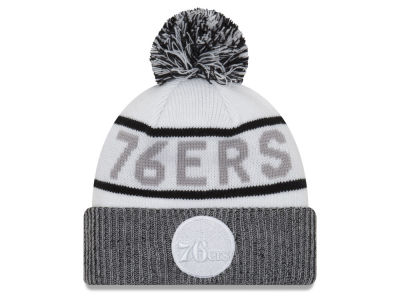Philadelphia 76ers New Era NBA Court Force Pom Knit