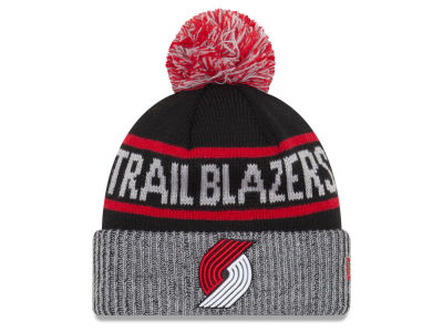 Portland Trail Blazers New Era NBA Court Force Pom Knit