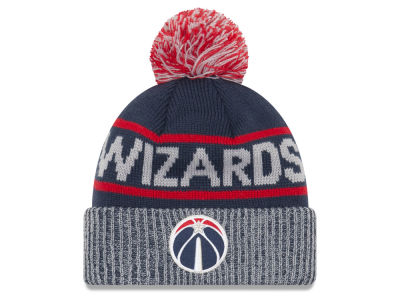 Washington Wizards New Era NBA Court Force Pom Knit