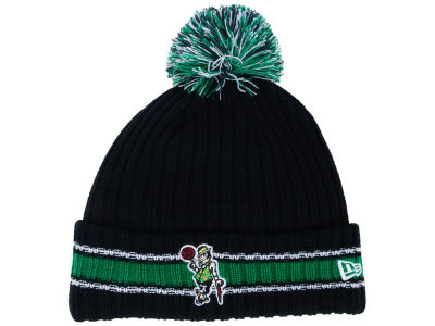 Boston Celtics New Era NBA Basic Chunky Pom Knit