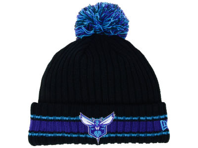 Charlotte Hornets New Era NBA Basic Chunky Pom Knit
