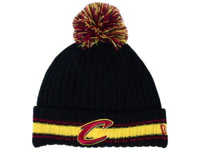 Cleveland Cavaliers New Era NBA Basic Chunky Pom Knit