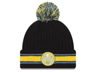 Denver Nuggets New Era NBA Basic Chunky Pom Knit