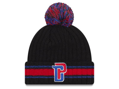 Detroit Pistons New Era NBA Basic Chunky Pom Knit