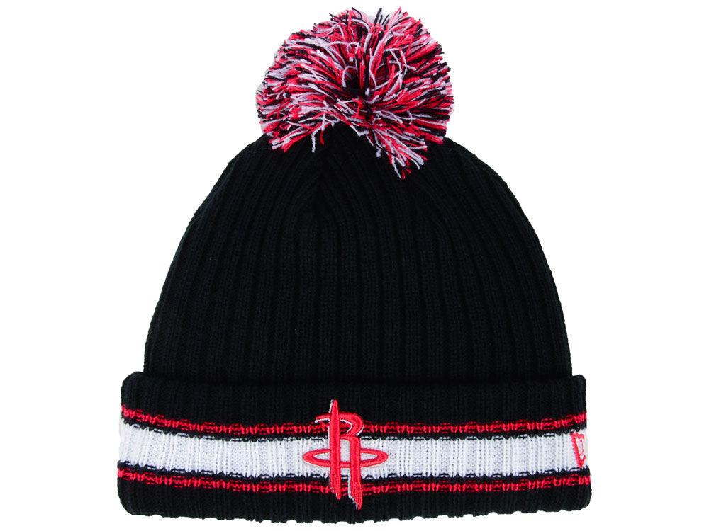 pretty nice ec381 6b967 wholesale houston rockets knit hat b223f 52948
