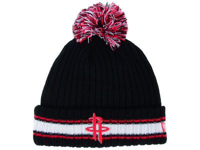 Houston Rockets New Era NBA Basic Chunky Pom Knit