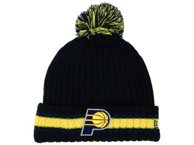 Indiana Pacers New Era NBA Basic Chunky Pom Knit