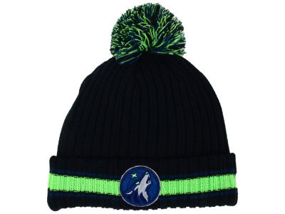 Minnesota Timberwolves New Era NBA Basic Chunky Pom Knit