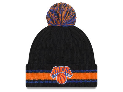 New York Knicks New Era NBA Basic Chunky Pom Knit