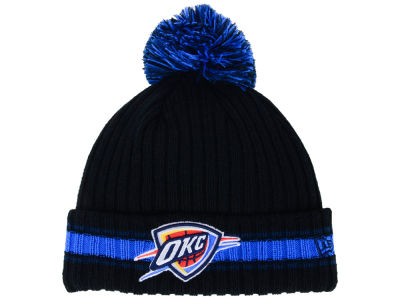 Oklahoma City Thunder New Era NBA Basic Chunky Pom Knit