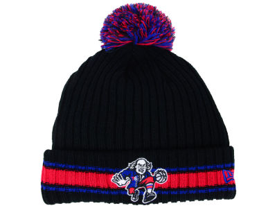 Philadelphia 76ers New Era NBA Basic Chunky Pom Knit