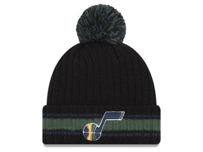 Utah Jazz New Era NBA Basic Chunky Pom Knit