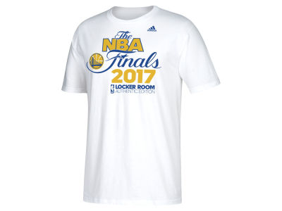 Golden State Warriors adidas 2017 NBA Men's Conference Champ Locker Room T-Shirt